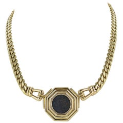 Bulgari 18 Karat Yellow Gold Coin Necklace