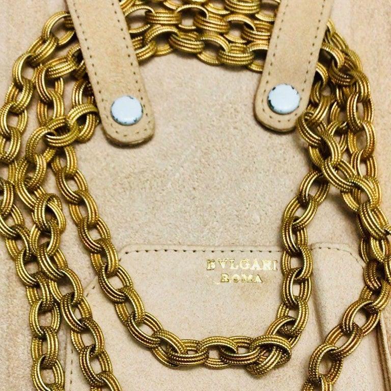 Bulgari 18 Karat Yellow Gold Long Chain Link Necklace 7