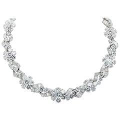 Bulgari 80.25 Carat Diamond Necklace, circa 1960