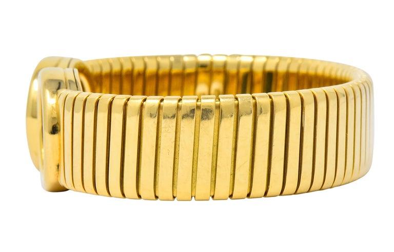 Bulgari Ancient Coin 18 Karat Gold Monete Emperor Constans Rome Bangle Bracelet For Sale 1
