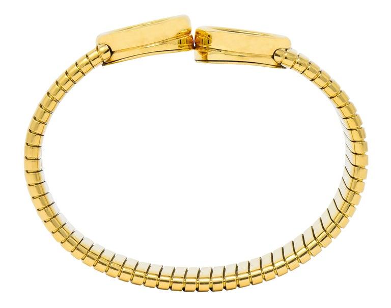 Bulgari Ancient Coin 18 Karat Gold Monete Emperor Constans Rome Bangle Bracelet For Sale 3