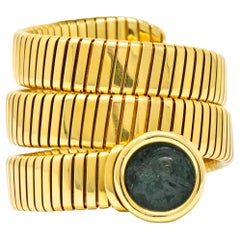 Bulgari Ancient Coin 18 Karat Yellow Gold Monete Roma Gladiator of Rome Bracelet