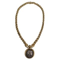 "Bulgari Ancient Coin Necklace 1970s ""Monete"" Collection"