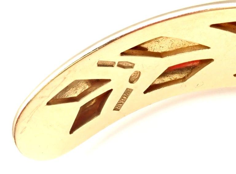 Bulgari Ancient Coin Yellow Gold Bangle Bracelet For Sale 3