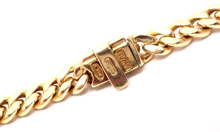 Bulgari Ancient Silver Coin Yellow Gold Link Necklace For Sale 3