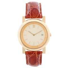 Bulgari Anfiteatro 18 Karat Yellow Gold Watch AT35GLD