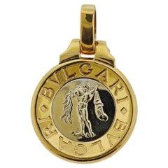 Bulgari Aquarius Zodiac Gold Pendant