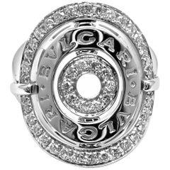 Bulgari Astrale Cerchi Diamond White Gold Ring