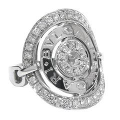 Bulgari Astrale Diamond White Gold Ring