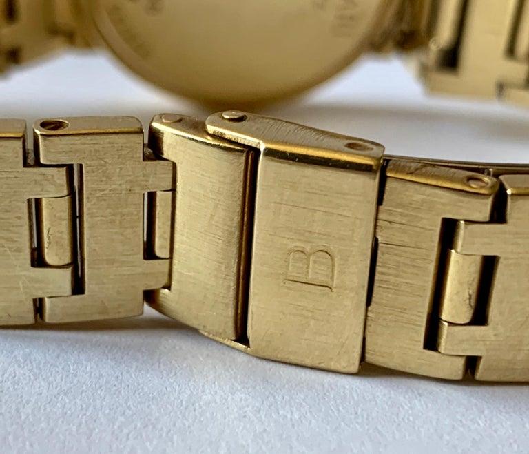 Bulgari BB 26 GGD 18 Karat Yellow Gold Ladies Watch In Good Condition For Sale In Zurich, Zollstrasse