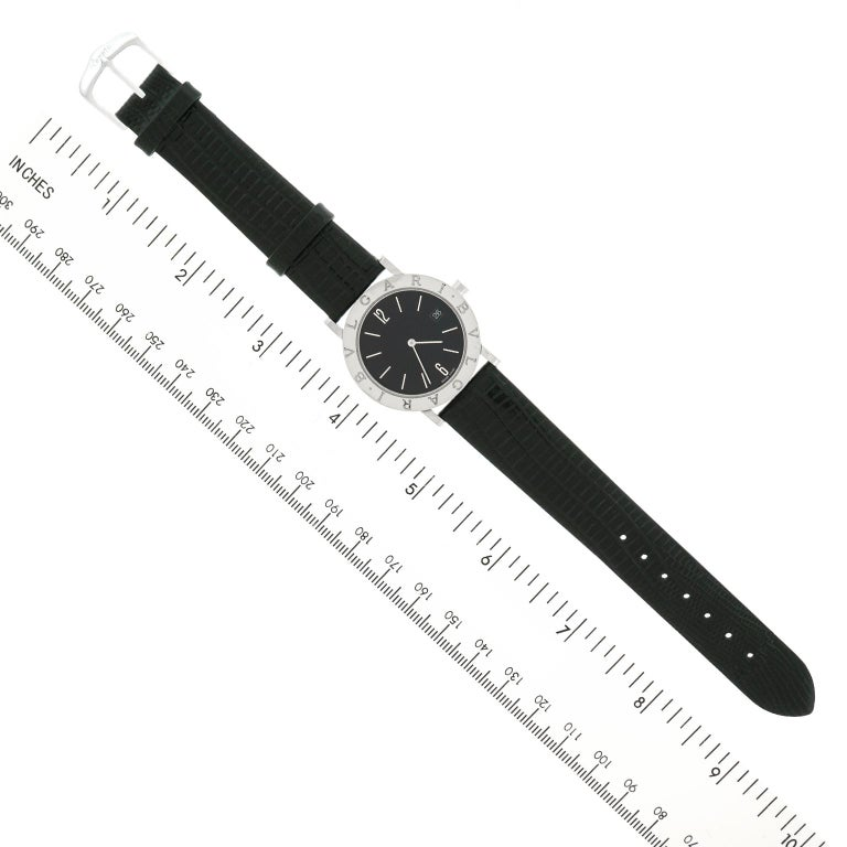Bulgari BB 33 SLD Stainless Steel Quartz Women's Watch For Sale 2
