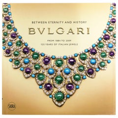 Bulgari, Between Eternity and History, Jewelry Coffee Table or Library Book