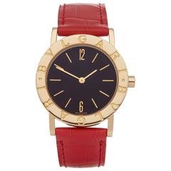 Bulgari Bulgari B-Zero BB 30 GL Ladies Yellow Gold Watch
