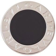 Bulgari-Bulgari White Gold Onyx Ring