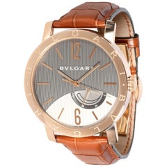 Bulgari Bvlgari Bvlgari BBP41GL Men's Watch in 18 Karat Rose Gold