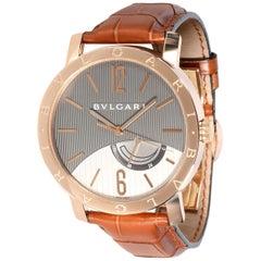 Bulgari Bvlgari Bvlgari BBP41GL Men's Watch in 18 Karat Rose Gold