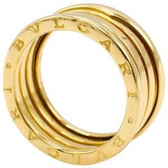 Bulgari Bvlgari B.Zero1 18 Karat Yellow Gold 3 Band Ring