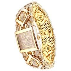 Bulgari Bvlgari Trika Diamond Yellow Gold Watch