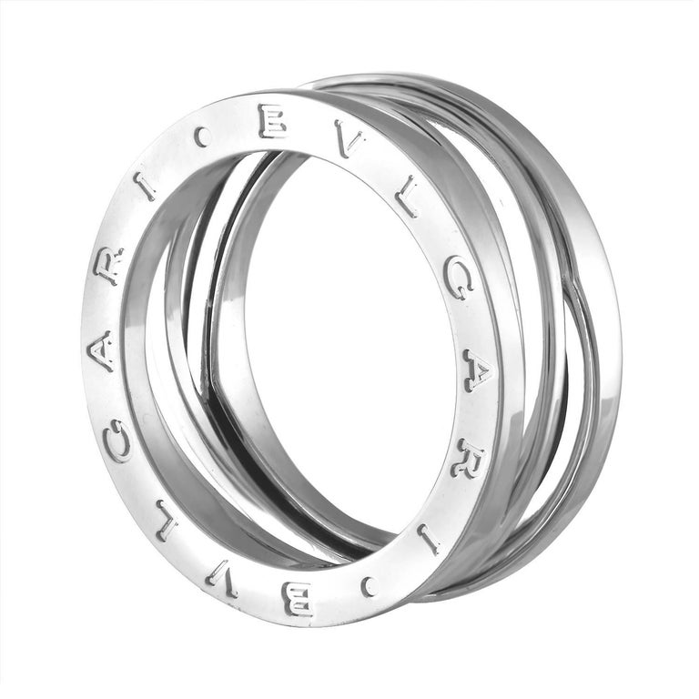 5c71a30a7a66d Bulgari B.Zero 1 Design Legend Three-Band White Gold Ring For Sale ...