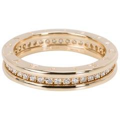 Bulgari B.zero 1 Diamond Ring in 18 Karat Yellow Gold 0.6 Carat