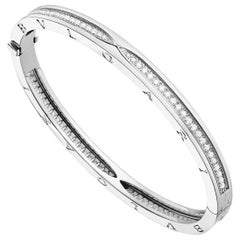 Bulgari B.zero1 Diamond White Gold Bracelet