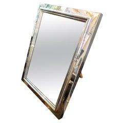 Bulgari combination picture frame/vanity mirror
