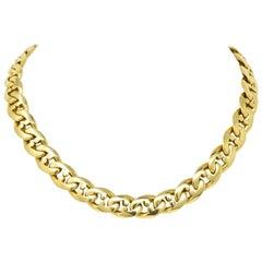 Bulgari Contemporary 18 Karat Gold Chain Bvlgari Necklace