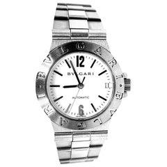 Bulgari Diagono Automatic Stainless Steel Case and Bracelet Wrist Watch