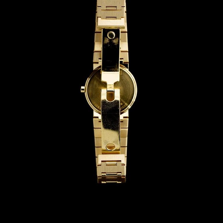 Women's Bulgari Diagono Yellow Gold Watch BB33GGD For Sale