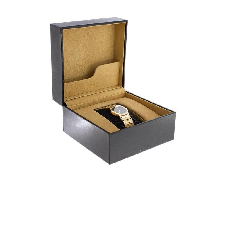 Bulgari Diagono Yellow Gold Watch BB33GGD For Sale 1