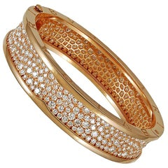 Bulgari Diamond B Zero Bangle