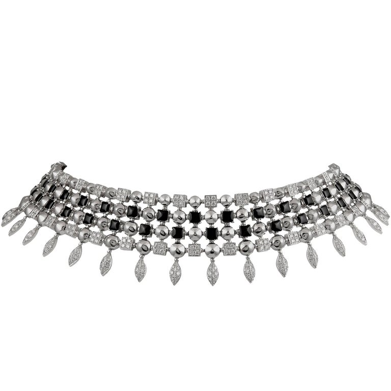 Bulgari Diamond Choker Necklace