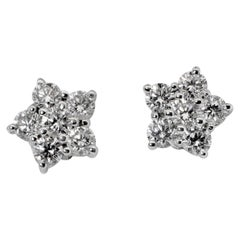 Bulgari Diamond Cluster Earrings