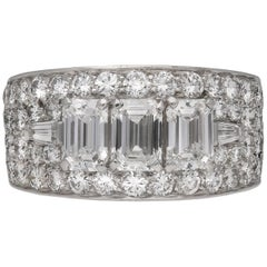 Bulgari Diamond Cluster Ring, circa 1960