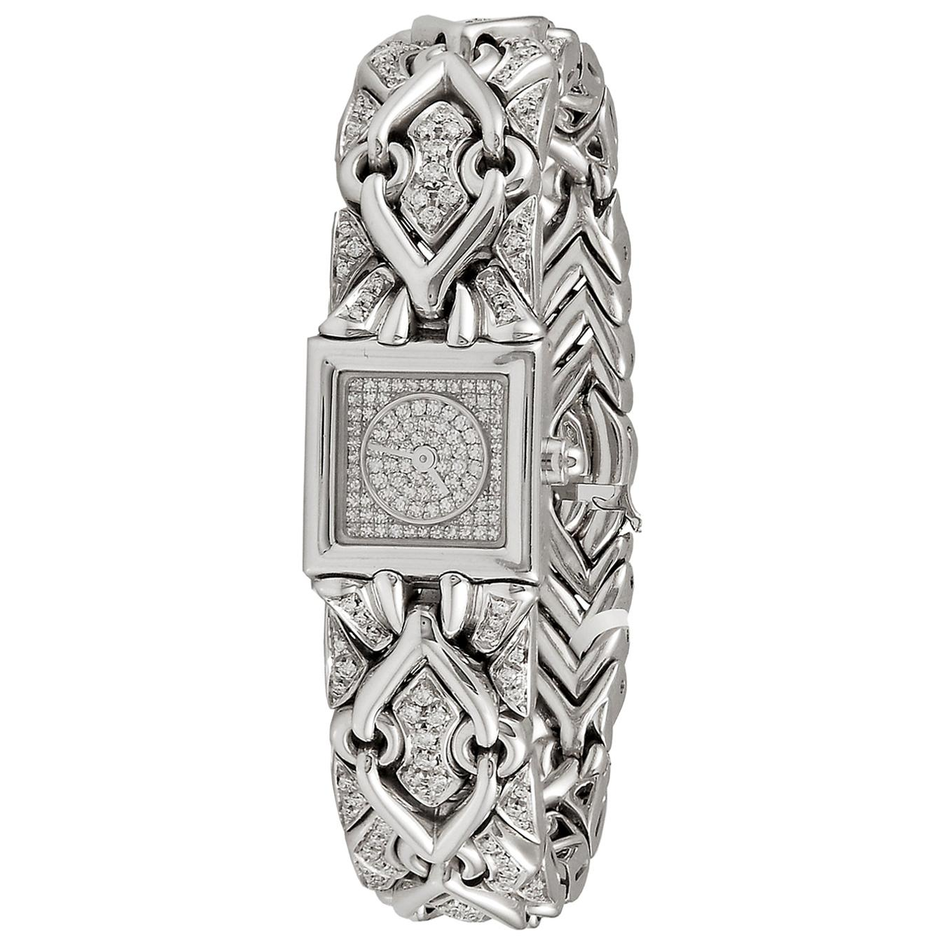 Bulgari Diamond Gold Watch