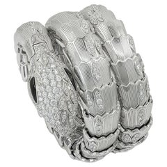 Bulgari Diamond Onyx Serpenti Watch
