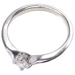 Bulgari Diamond Platinum Engagement Ring