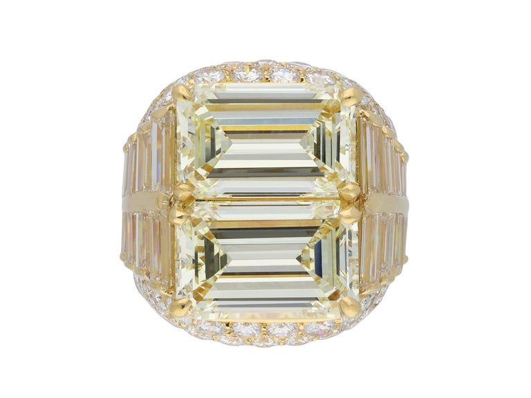 Bulgari Diamond 'Trombino' Ring, Italian, circa 1970 For Sale 5