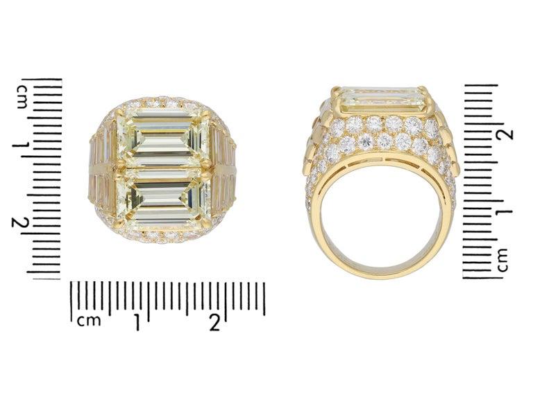 Bulgari Diamond 'Trombino' Ring, Italian, circa 1970 For Sale 2