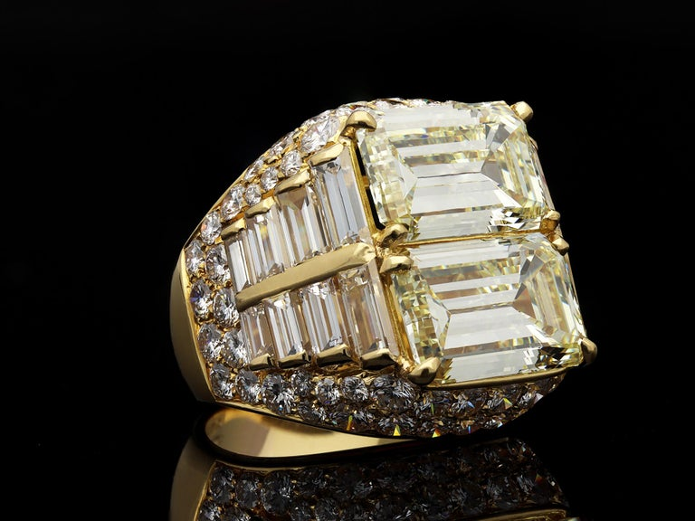 Bulgari Diamond 'Trombino' Ring, Italian, circa 1970 For Sale 4