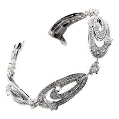 Bulgari Elisia Diamond White Gold Bracelet