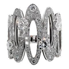 Bulgari Elisia Diamond White Gold Ring
