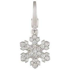 Bulgari Fiocco De Neve Diamond Snowflake Pendant