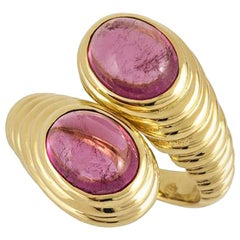 Bulgari Gold Amethyst Dress Ring