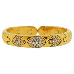 Bulgari Gold Diamond Bracelet