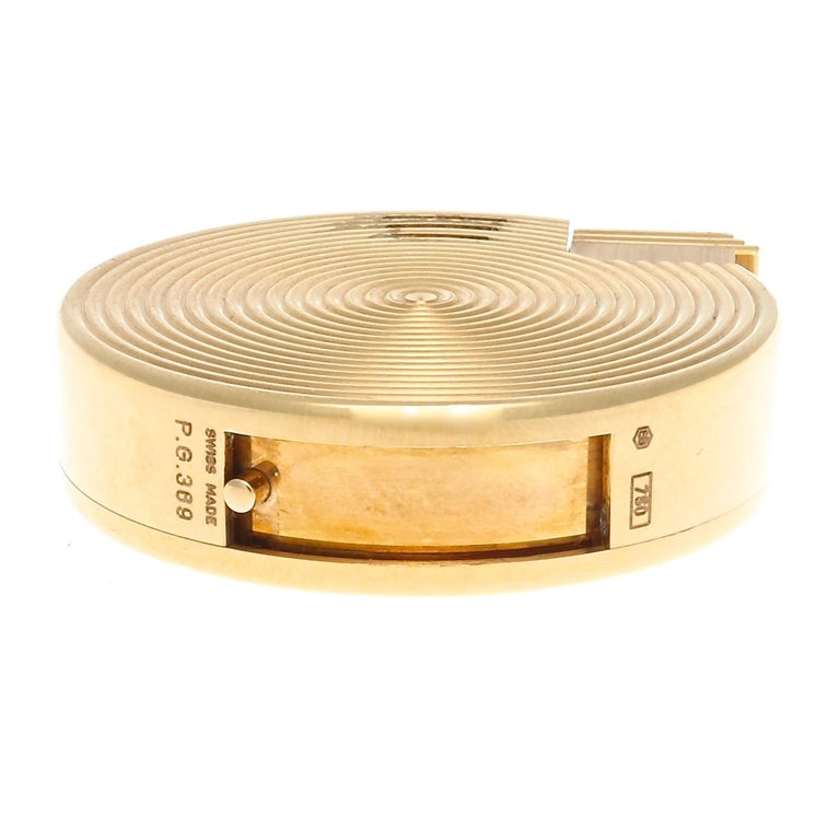 Bulgari Gold Lighter In Excellent Condition For Sale In Beverly Hills, CA