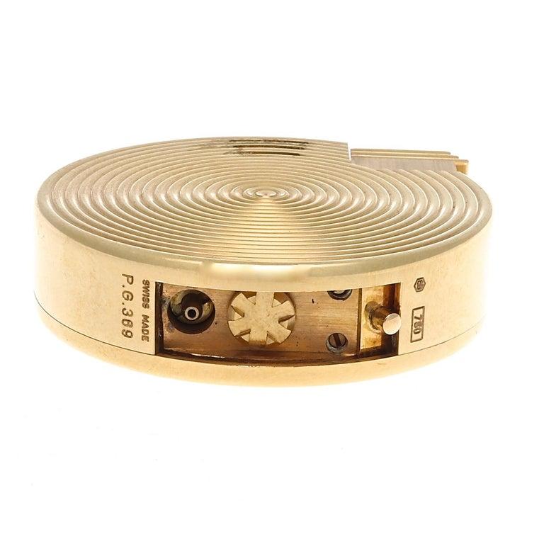Women's or Men's Bulgari Gold Lighter For Sale