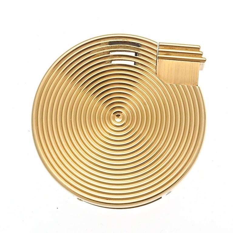 Bulgari Gold Lighter For Sale