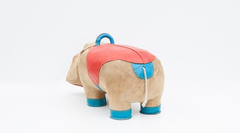 1970s High-Quality Children Toy 'Hippo' by German Renate Müller 'c' 11