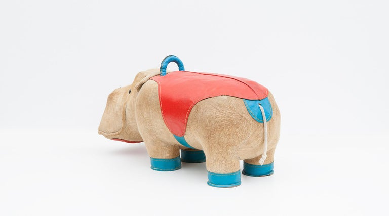 1970s High-Quality Children Toy 'Hippo' by German Renate Müller 'c' 12